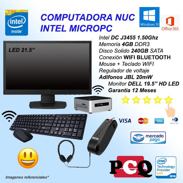 MINIPC DC 4GB 240GB TM AUD EST